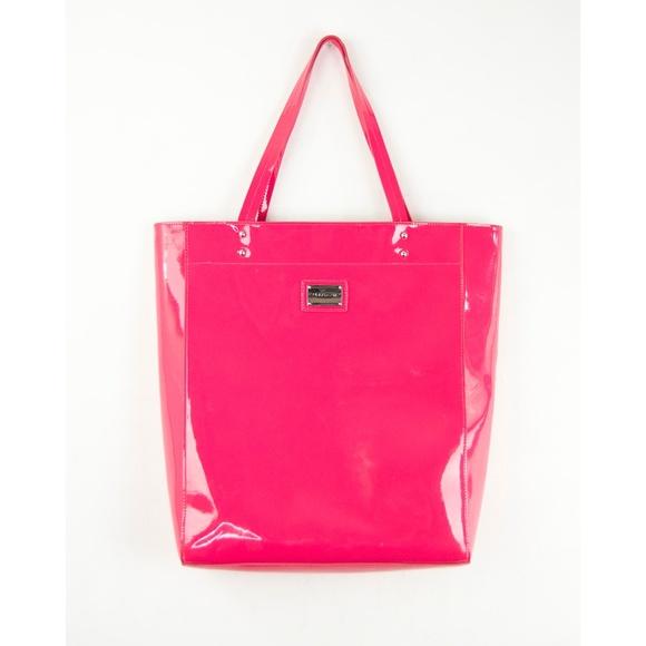 Cynthia Rowley Handbags - Cynthia Rowley Pink Patent Leather Tote Bag